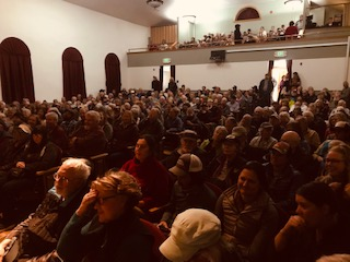 """Photo of attendance at Star Hall for the Moab Premiere"""" />    <P>  <P> </span>   <p align="""
