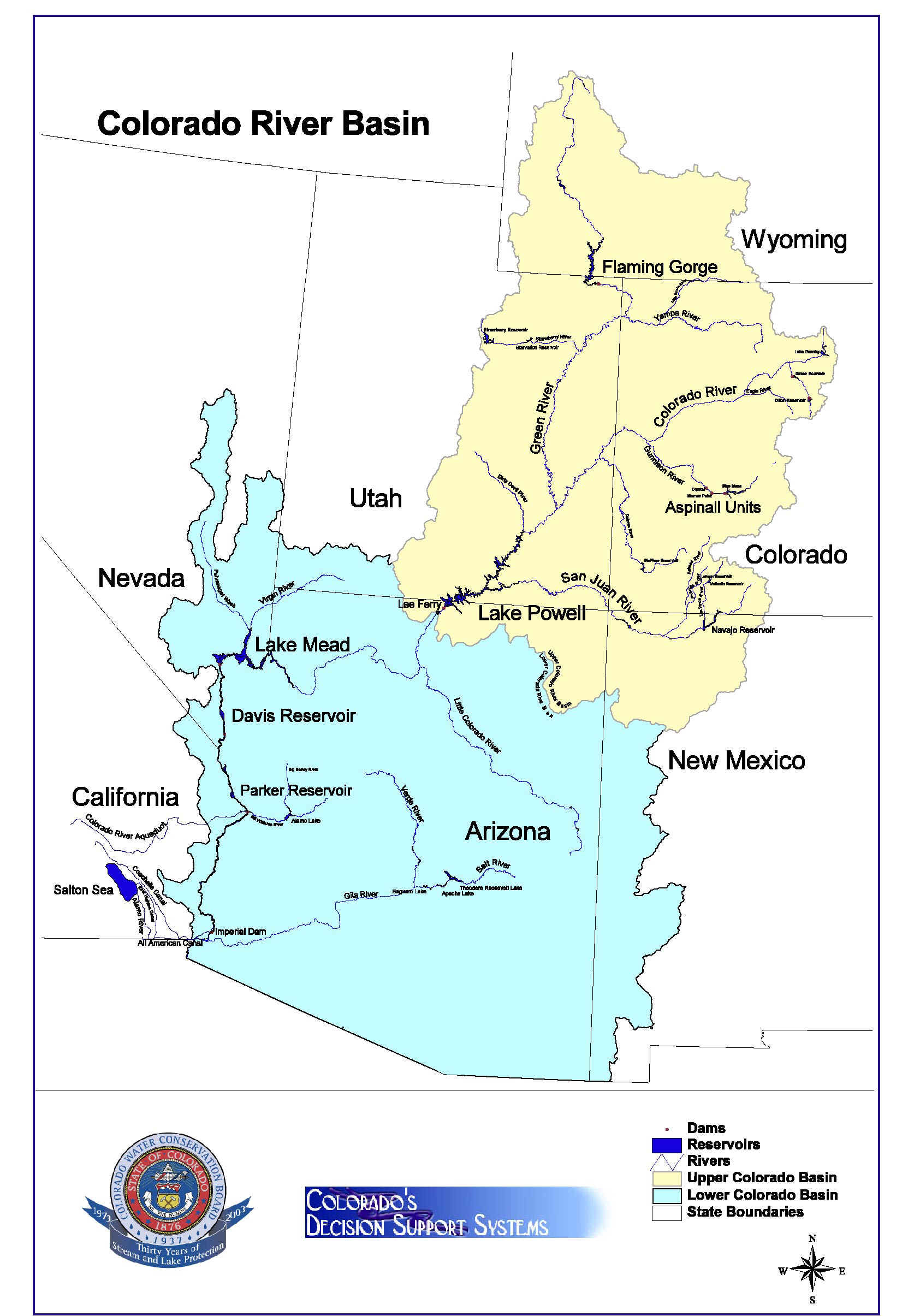 Colorado River On Us Map Pictures To Pin On Pinterest PinsDaddy - Map of colorado river in texas